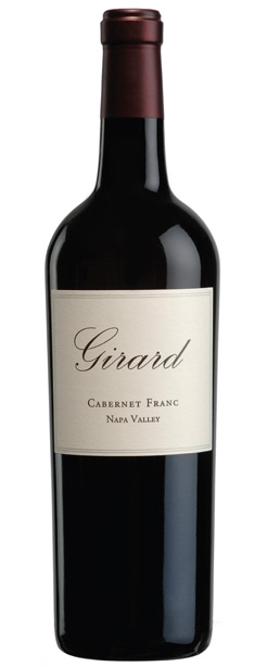 2015 Girard Cabernet Franc, Napa Valley, 750ml