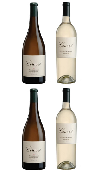 Includes: 2 Sauvignon Blanc, Napa Valley & 2 Chardonnay, Russian River Valley